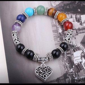 Sterling Silver Heart ❤️ Bracelet